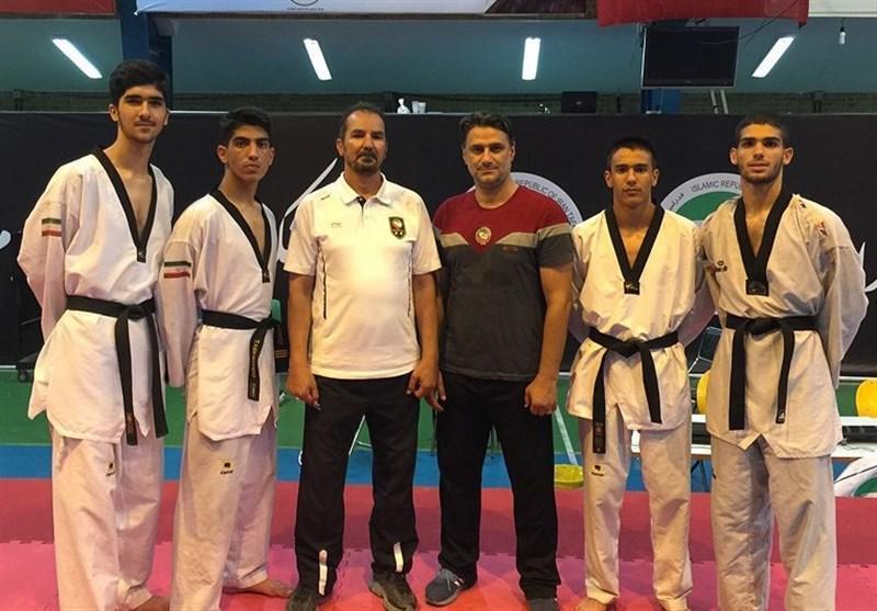 اردوی ملی پوشان تکواندو جوان المپیکی کشورمان در کیش