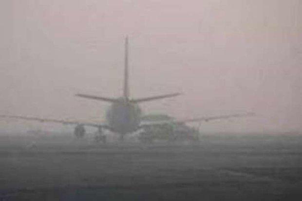 مه شدید پرواز کرمانشاه- تهران را لغو کرد