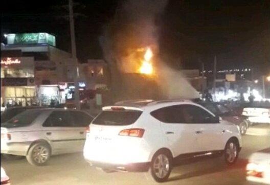دستگیری عامل آتش زدن مجسمه آریوبرزن در یاسوج