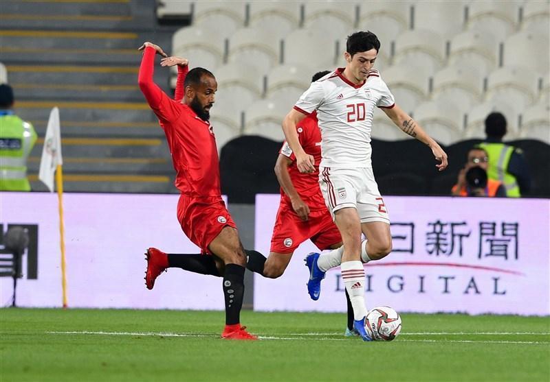 جام ملت های آسیا، پیروزی پُرگل ایران در نیمه نخست از دریچه دوربین