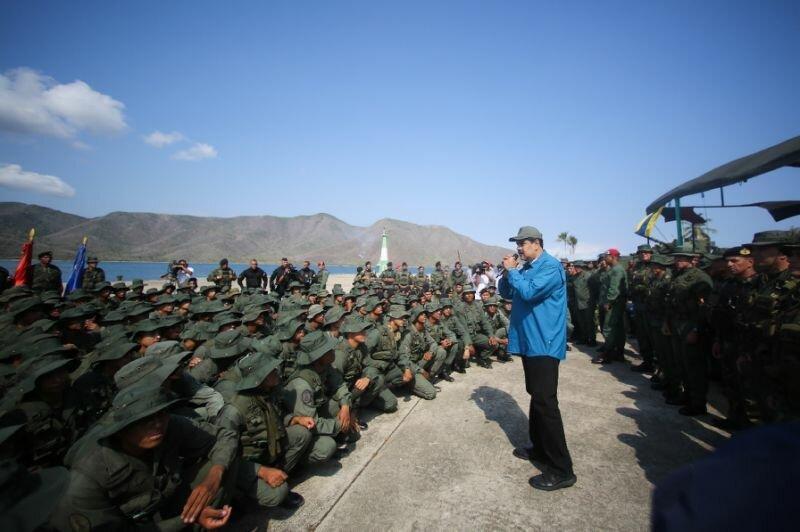 شروع رزمایش پنج روزه ارتش ونزوئلا