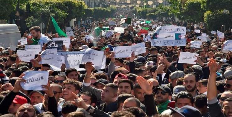زخمی شدن 63 نفر در اعتراضات الجزائر