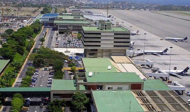 توقف پروازها در مهم ترین فرودگاه بین المللی ونزوئلا