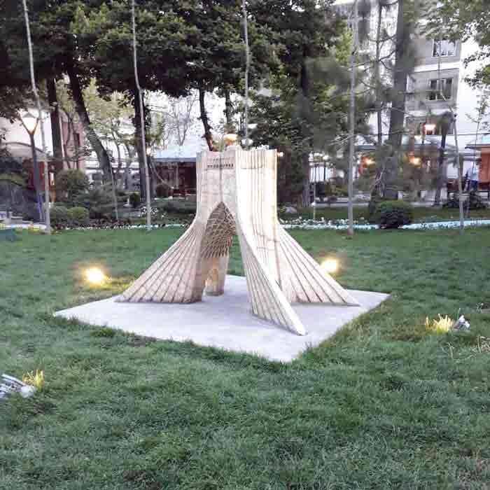 بهار در باغ ایرانی