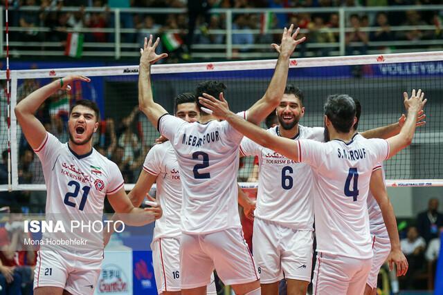 تیم ملی والیبال ایران مقابل فرانسه مغلوب شد