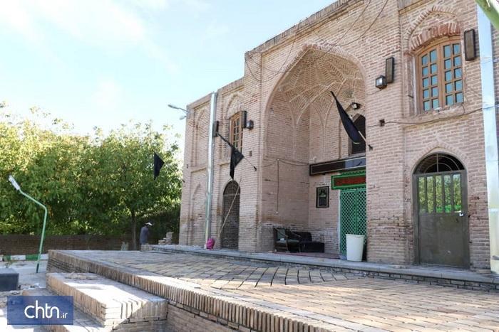 پیشرفت 80درصدی پروژه سامان دهی و مرمت امام زاده سلطان علاءالدین آوج