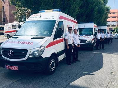 کاروان اورژانس استان بوشهر برای خدمت به زائران اربعین اعزام شد