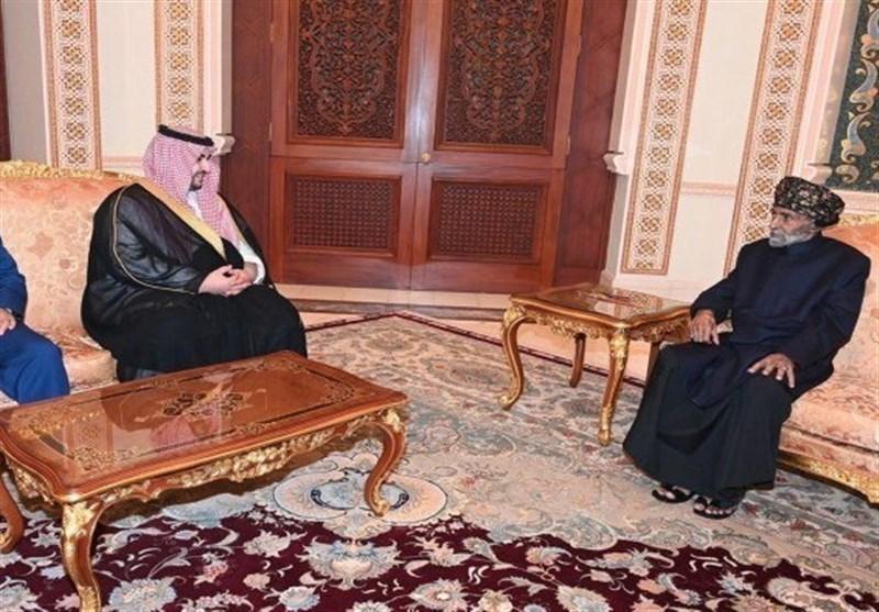 دیدار نماینده عربستان با پادشاه عمان در مورد پرونده یمن