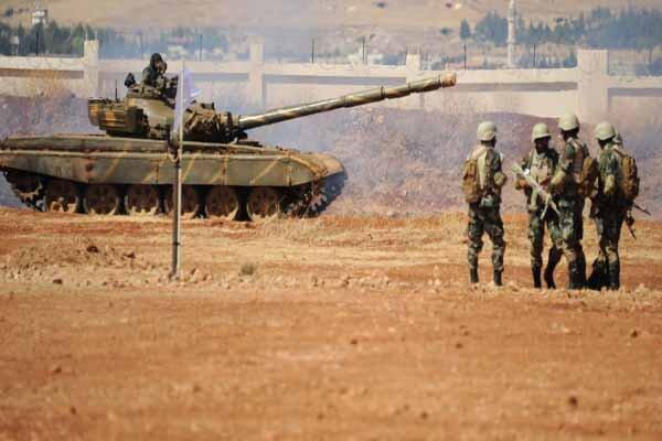تسلط کامل ارتش سوریه بر فرودگاه نظامی الطبقه در الرقه