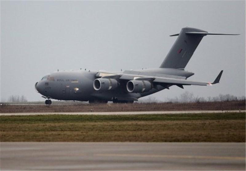 یک هواپیمای باری انگلیس راهی عراق شد