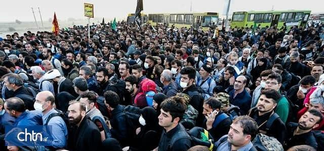 تردد 195 هزار نفر از مرز مهران در 24 ساعت گذشته