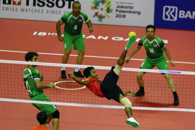 شکست تیم ملی سپک تاکرا مقابل ویتنام