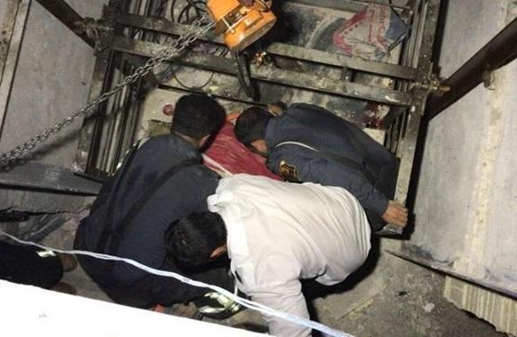 سقوط مرگبار کارگر ساختمانی به چاهک آسانسور در کرج