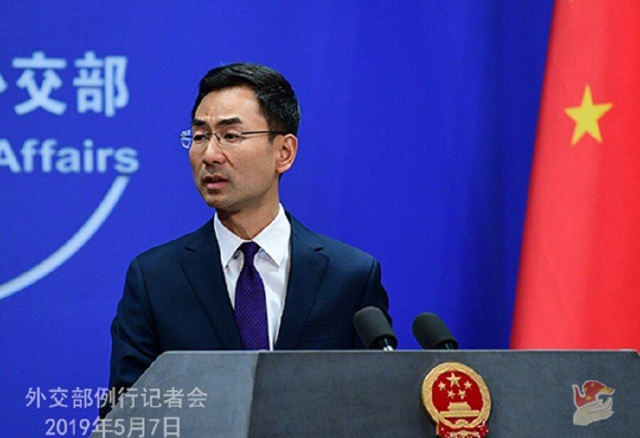 سخنگوی وزارت خارجه چین معامله پکن و آمریکا بر سر ایران را تکذیب کرد