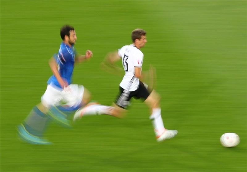 تساوی آلمان و ایتالیا در نیمه اول