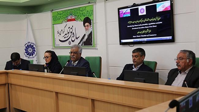 عمان می تواند به پایگاه صادراتی ایران به بازارهای منطقه تبدیل گردد
