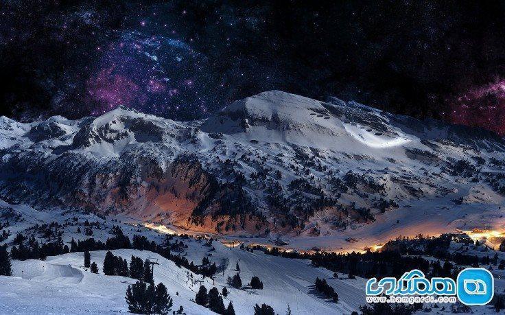 زیباترین ارتفاعات زمستانی اروپا کدامند؟