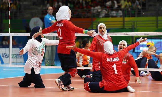 تیم ملی والیبال نشسته زنان، سوم آسیا شد