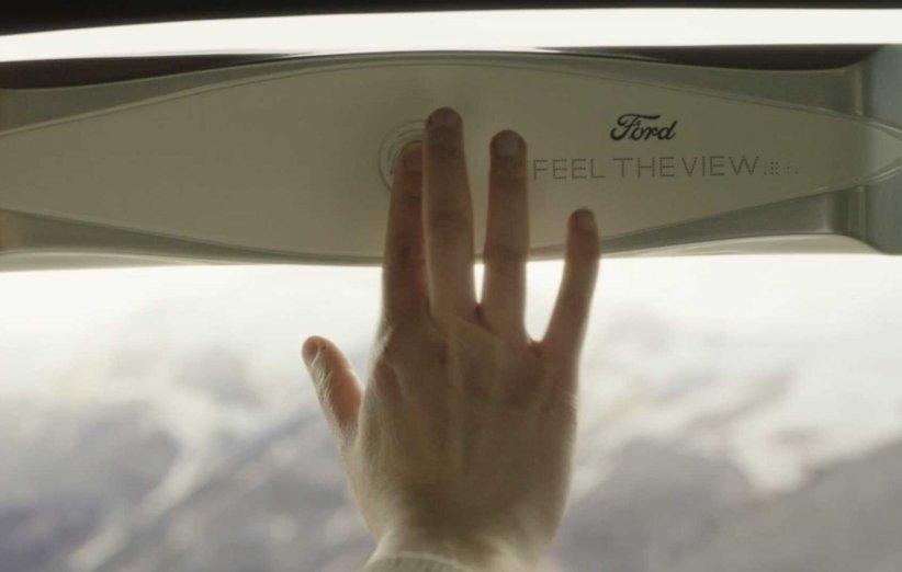 پنجره هوشمند فورد، مناظر را برای نابینایان ترسیم می نماید