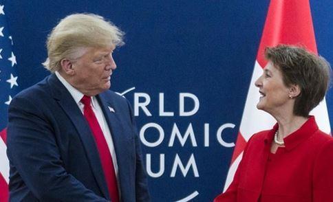 تشکر ترامپ از سوئیس بخاطر حفاظت از منافع آمریکا در ایران
