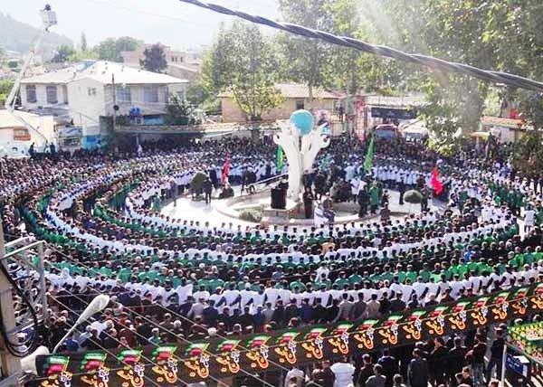 رونمایی از سند ثبت ملی سینه زنی کمر به کمر رامیان