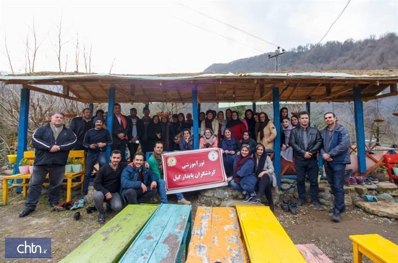 برگزاری فم تور چادرشب بافی در روستای قاسم آباد رودسر
