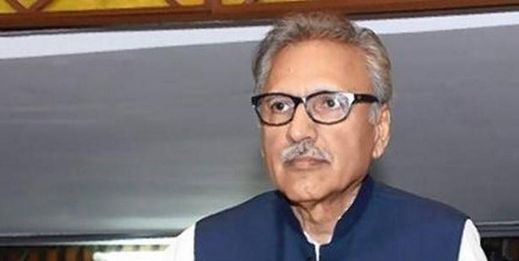 رییس جمهور پاکستان از مواضع رهبر انقلاب در قبال مسلمانان هند قدردانی کرد