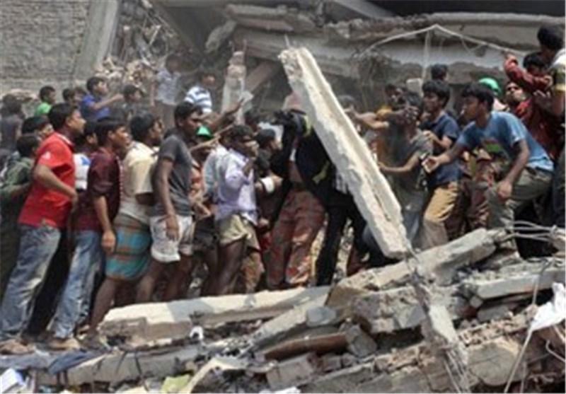 23 زخمی درپی فروریختن ساختمان یک کارخانه در کامبوج