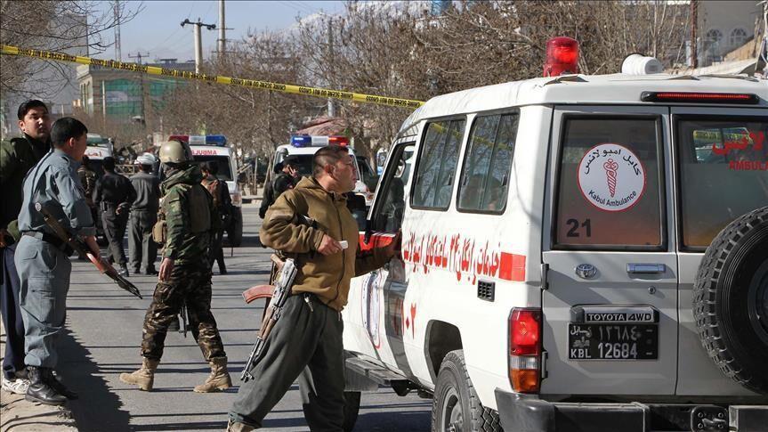 خبرنگاران حمله مهاجمان مسلح به عبادتگاه سیک ها در کابل