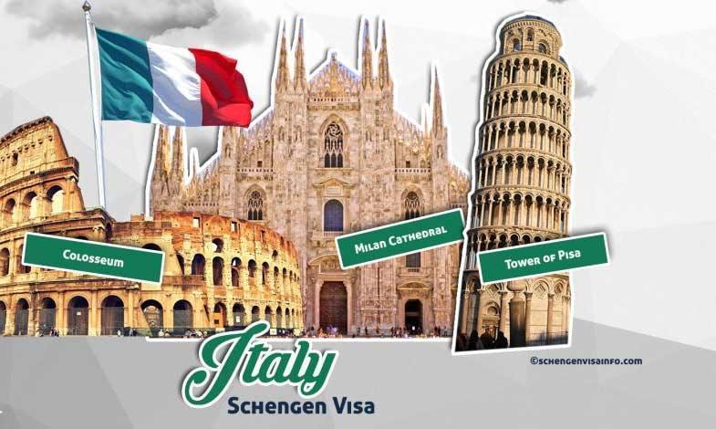 چگونگی دریافت ویزای کشور ایتالیا سفارت ایتالیا