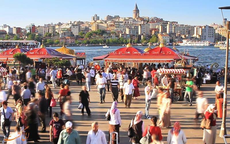 از نظر مسافران خارجی کدام یک از محله های استانبول بهتر هستند؟