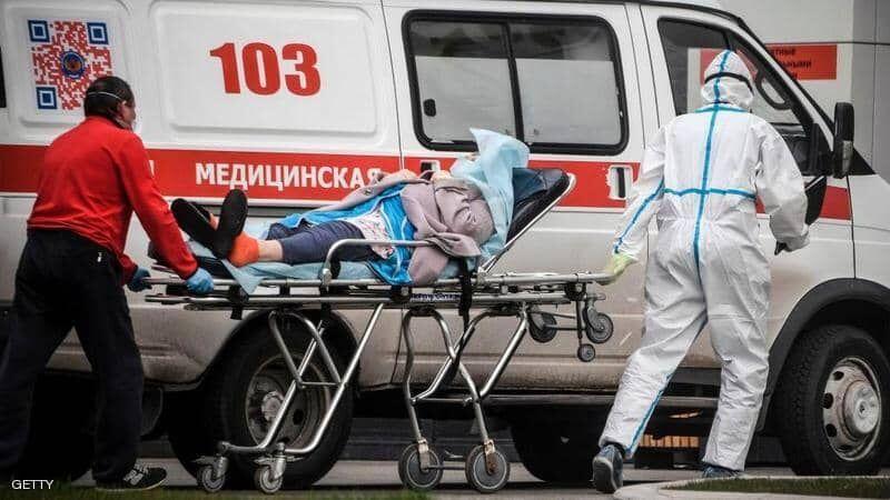 ثبت رکورد جدیدی از مبتلایان به کرونا در روسیه