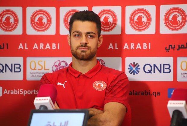 تمرین 14 روزه و جداگانه مدافع تیم ملی ایران در قطر