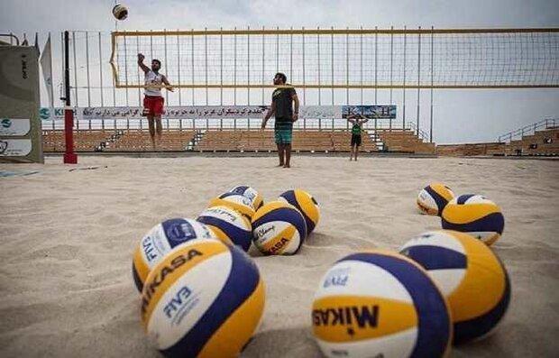 زمان و مکان برگزاری هشت رویداد والیبال ساحلی کشور معین شد