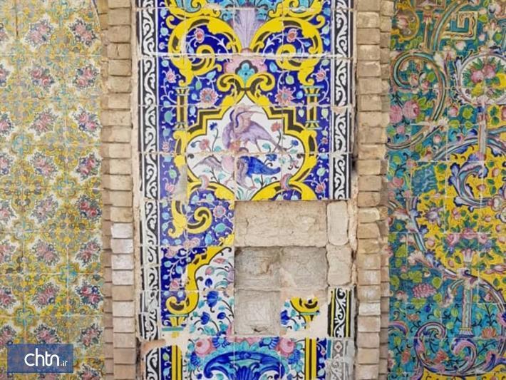 بازسازی ارسی ها و کاشی های هفت رنگ کاخ گلستان