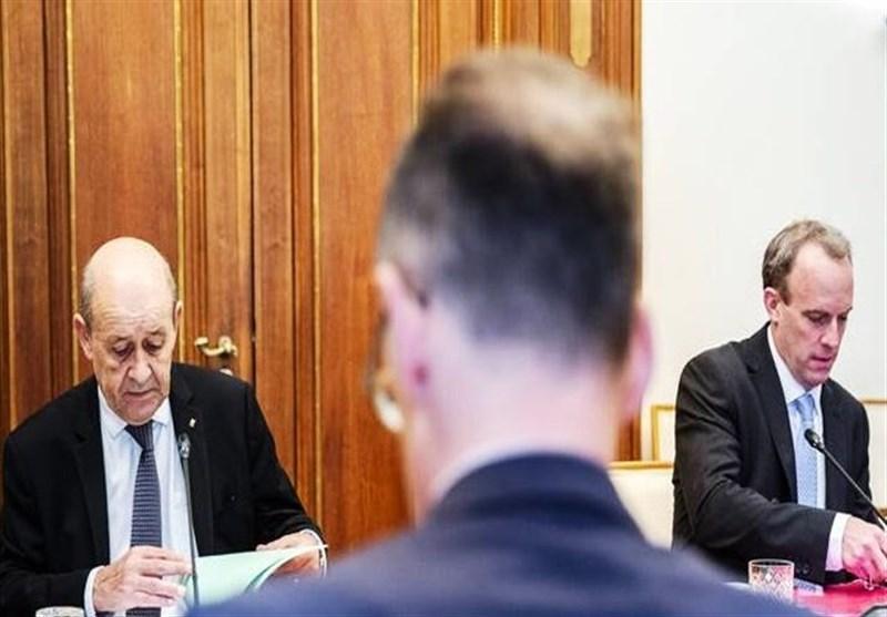 گفتگوی وزرای خارجه انگلیس و فرانسه درباره ایران و مسائل خاورمیانه