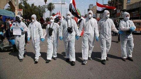 کرونا زنگ خطر را در عراق به صدا در آورده است