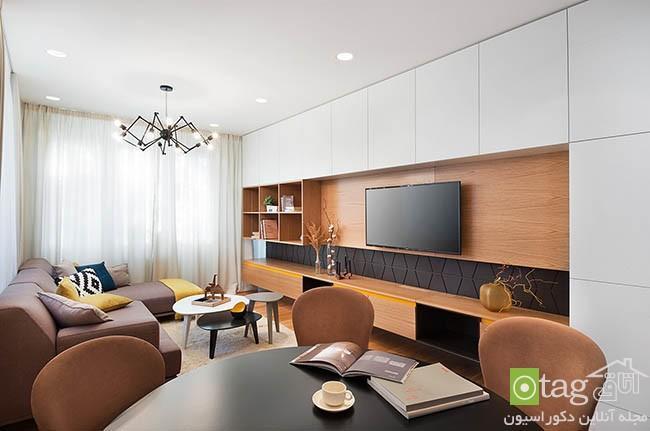 دکوراسیون کامل آپارتمان مدرن با طراحی داخلی بسیار شیک و زیبا