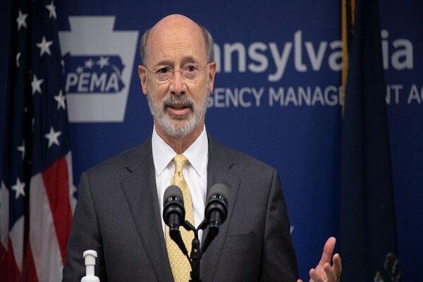 فرماندار پنسیلوانیا نتیجه انتخابات را به نفع بایدن تأئید کرد