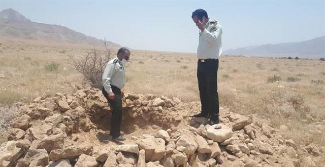 دستگیری حفاران غیرمجاز درشهرستان لنده