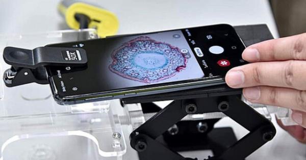 تبدیل گوشی های قدیمی به میکروسکوپ برای دانش آموزان تایلندی