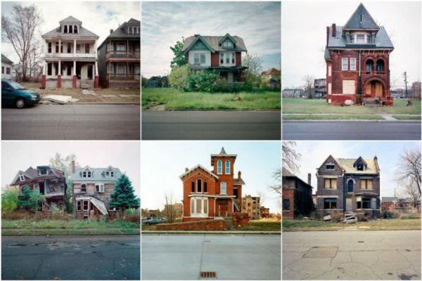 سفر به آمریکا: دیترویت آمریکا؛ شهر خانه های متروکه