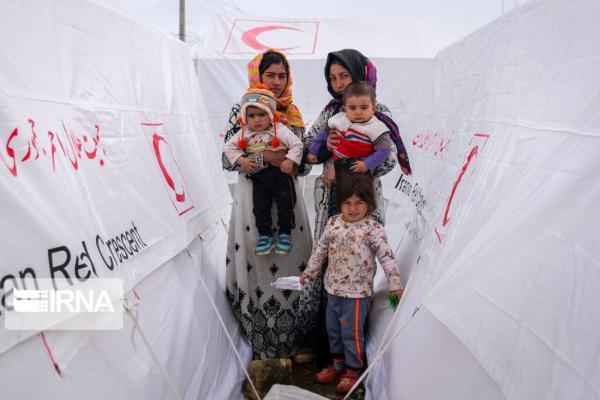 خبرنگاران تحویل 22 هزار و 500 دستگاه چادر برای شارژ انبارهای امدادی