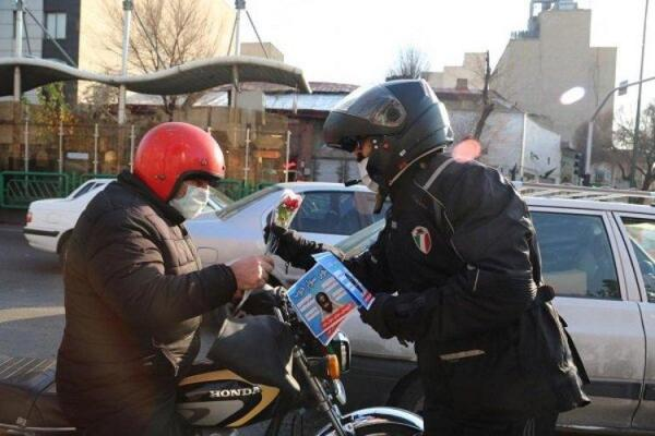 (ویدئو) مجازات جدید پلیس برای موتورسواران متخلف