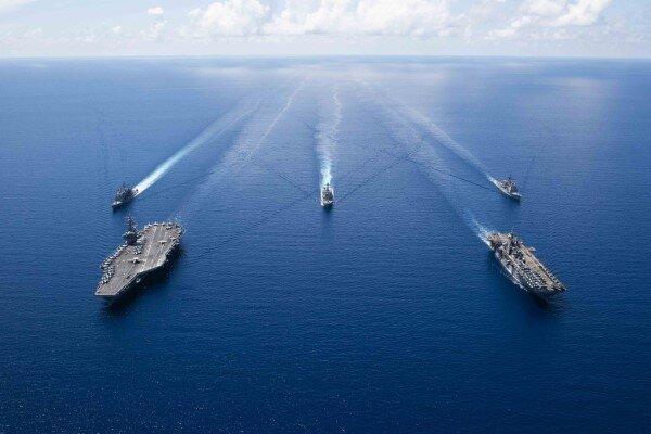 چین عبور ناوجنگی آمریکا از تنگه استراتژیک تایوان را محکوم کرد