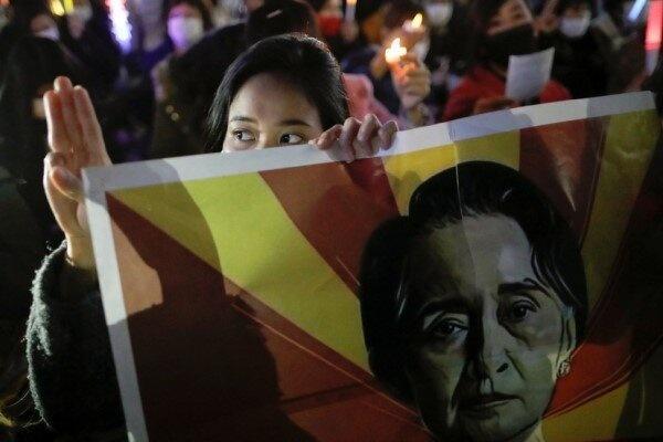 درخواست آمریکا از سازمان ملل برای تحریم نظامیان میانمار