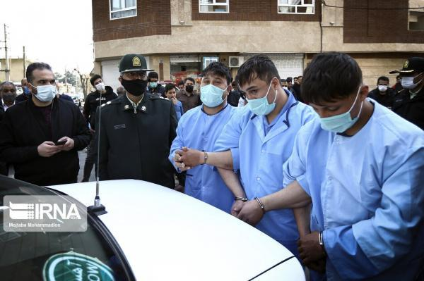 خبرنگاران اوباش محله فلاح تهران در کمتر از 12 ساعت دستگیر شدند