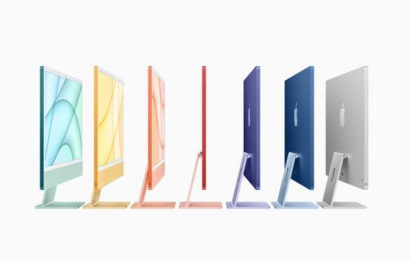 اپل از آی مک جدید با تراشه M1 و طراحی به روز رونمایی کرد