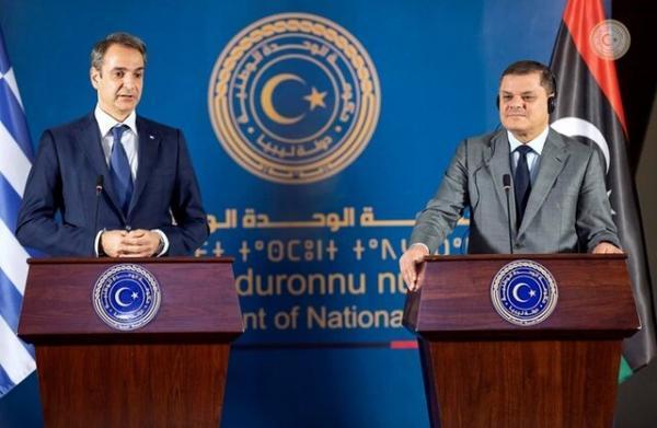 تاکید نخست وزیران یونان و ایتالیا بر حمایت از لیبی در ملاقات با الدبیبه