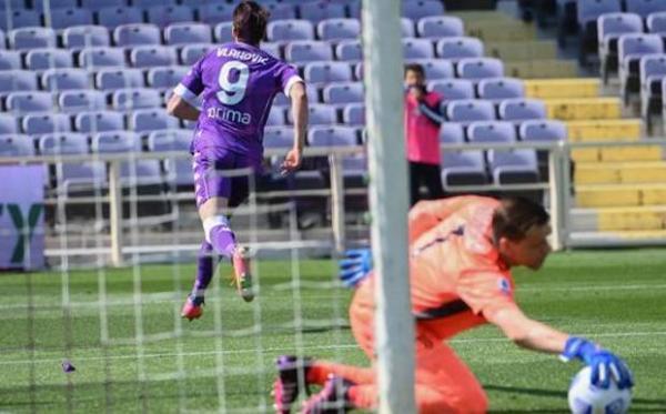 فیورنتینا 1 - 1 یوونتوس؛ سهمیه روی هوا